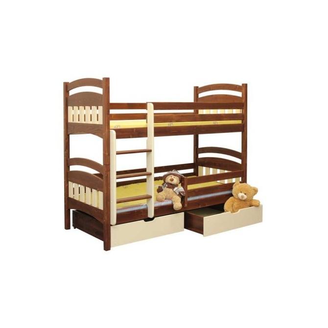 Poschodová posteľ Macko