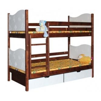 Poschodová posteľ Písmenko