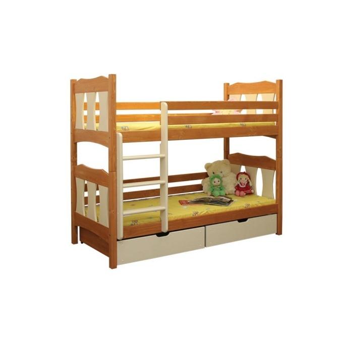 Poschodová posteľ Veverička