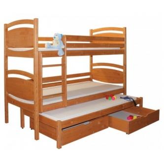 Poschodová posteľ Sloník