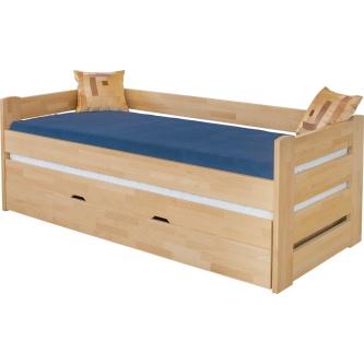 Masívna rozkladacia posteľ Vanessa