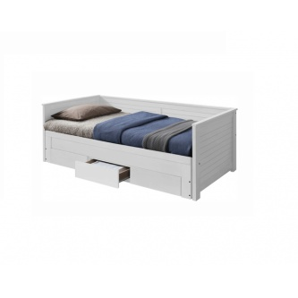 Rozkladacia posteľ Goreta, biela